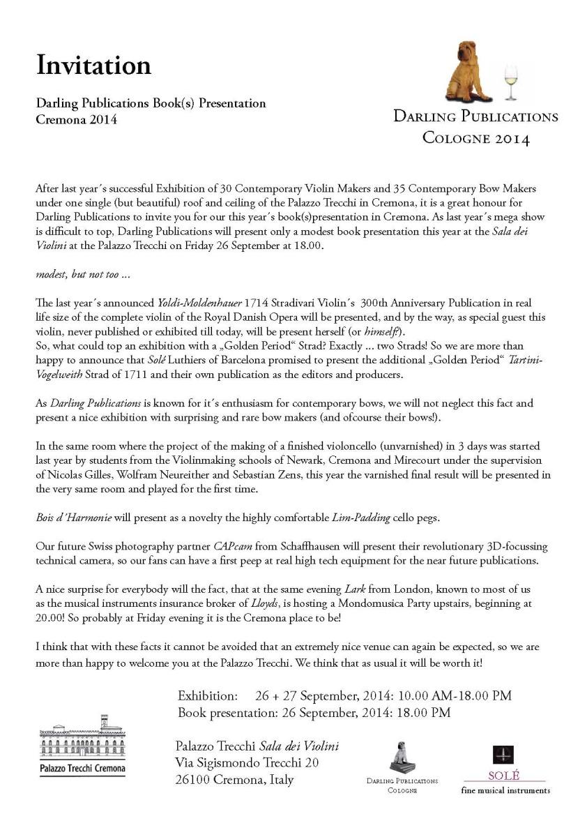 Darling Publications Cremona 2014 klein 1